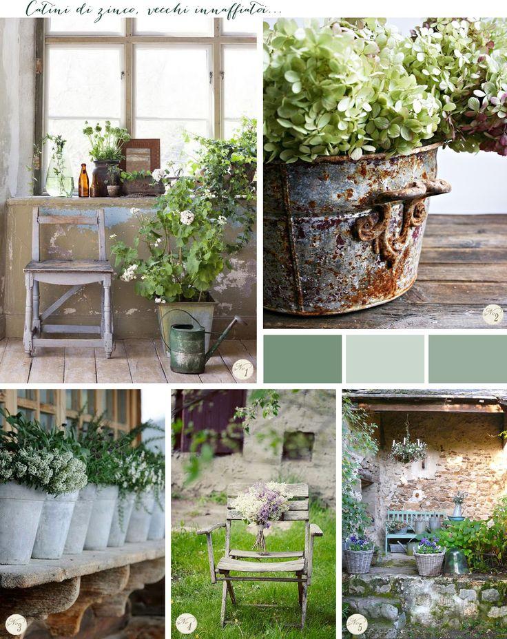 17 migliori idee su giardino shabby chic su pinterest for Idee giardino shabby
