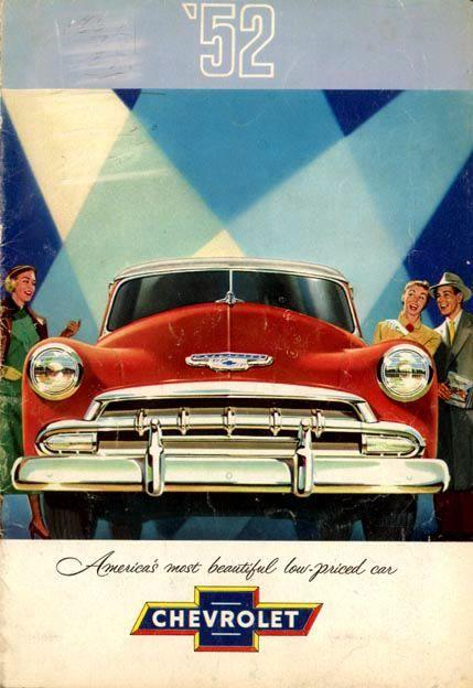 '52 Chevrolet Ad