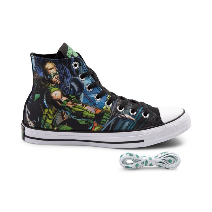 Converse Chuck Taylor All Star Hi Green Arrow Sneaker