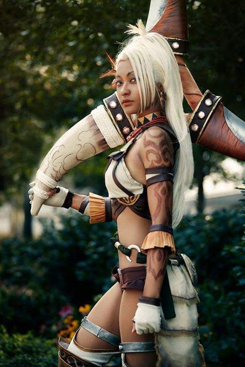 Character: Zhurong Series: Dynasty Warriors http://cosplayingwhileblack.tumblr.com/