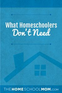 With back-to-school gearing up everywhere, the lists of school supplies are long. But have no fear. I am here to bring you some much-needed consolation in all of the school-prep hoopla. Because even though there are plenty of things you can buy and do and have to make your homeschool a success, you don't need to stress. Because the truth is that this homeschooling thing doesn't have to be complex. This two-part series is here to help you focus on something revolutionary: What homeschoolers…