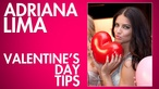 We grabbed an interview with Victoria's Secret's Adriana Lima to ask a few questions about dating, relationships, and of course, Valentine's Day.