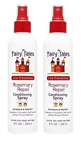 Introducing FAIRY TALES Rosemary Repel Lice Prevention LeaveIn Conditioning Spray 8 oz Pack of 2. Get Your Ladies Products Here and follow us for more updates!