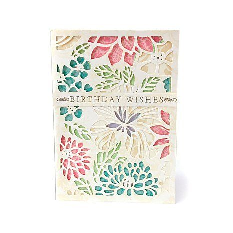 Anna Griffin® Lovely Layered Cards Cricut Cartridge