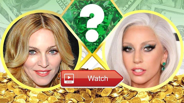 WHOS RICHER Madonna or Lady Gaga Net Worth Revealed 17  Who's worth more How much money do Madonna and Lady Gaga have We reveal their net worth and see who's the richest b
