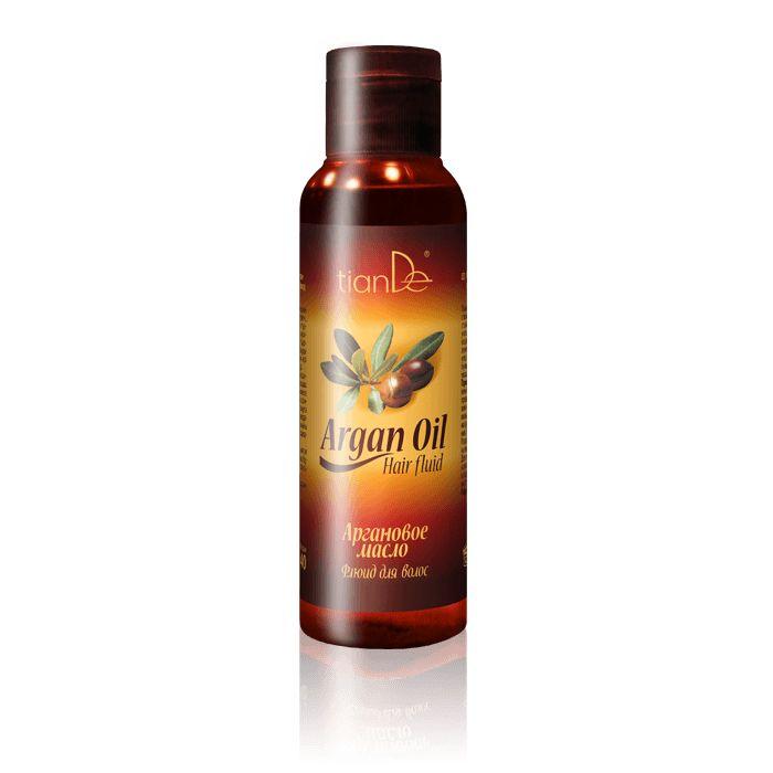 Аргановое масло - флюид для волос
