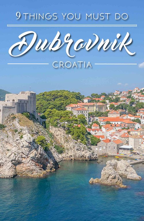 Top 9 Things To Do in Dubrovnik, Croatia http://fancytemplestore.com