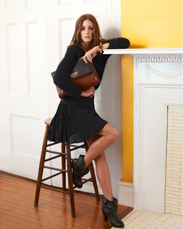 Olivia Palermo Sports Jill Stuart in Eric Guillemain's Vogue Girl Korea Shoot