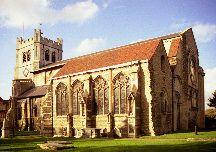 Waltham Abbey Church, Essex
