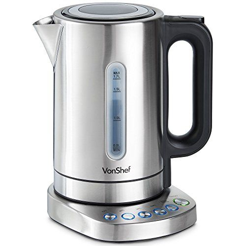 VonShef Electric Kettle with Variable