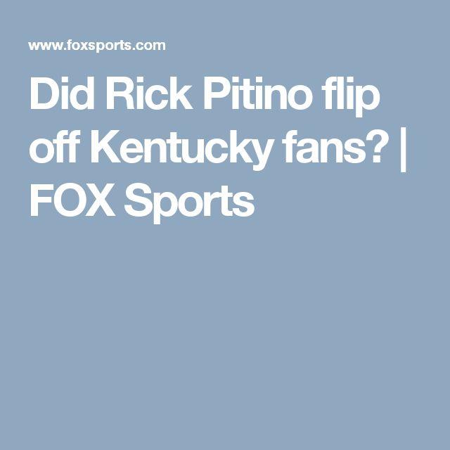 Did Rick Pitino flip off Kentucky fans? | FOX Sports