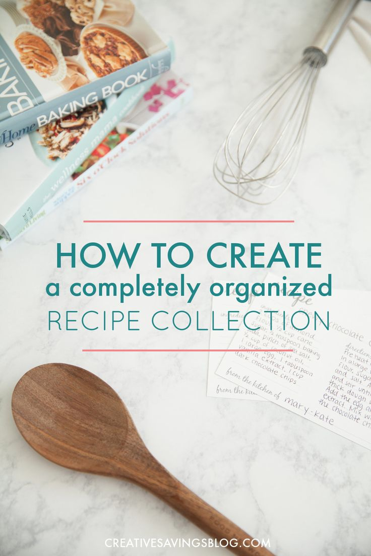 The trick to keeping recipes organized is to find a system that works for you. These three methods are the most popular options out there, and turn your recipe clippings into a deliciously organized collection! via @creativesavings