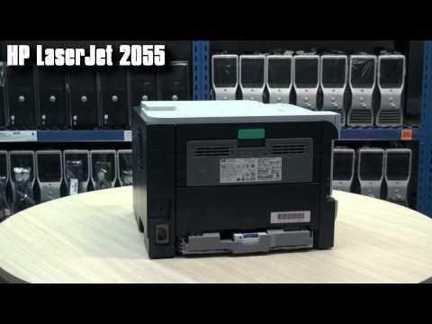 Velkokapacitní tiskárna HP LaserJet P2055DN s tonerem a kabelem