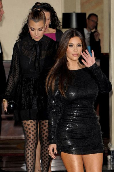 Kim Kardashian Photos - Kim Kardashian attends the launch party for the Kardashian Kollection for Dorothy Perkins on November 8, 2012 in London, England. - Kardashian Kollection For Dorothy Perkins - Launch Party - Arrivals