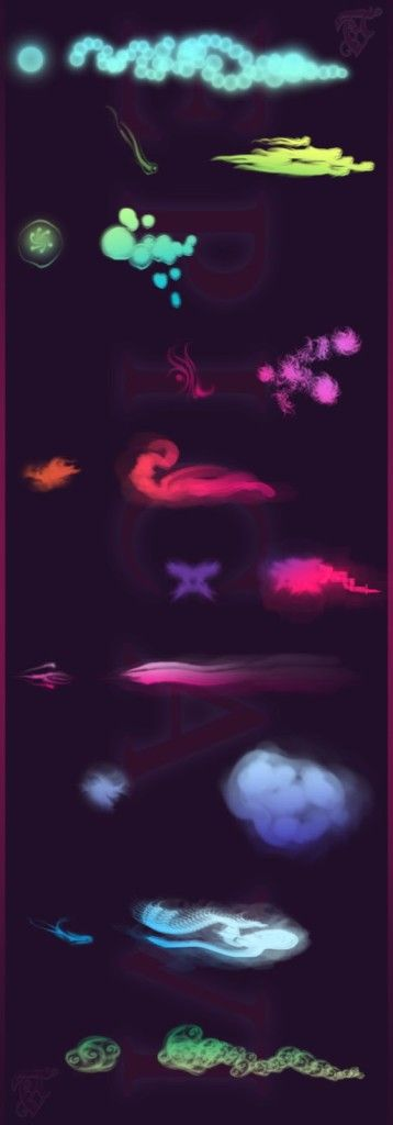 Beautiful Free Dynamic Photoshop Brushes for Painting | Starsunflower Studio Blog