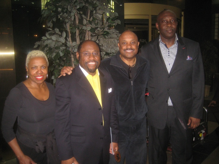 Willie and Dee Jolley with Dr. Myles Monroe and Jesus House DC's Pastor Ghandi Olaoye