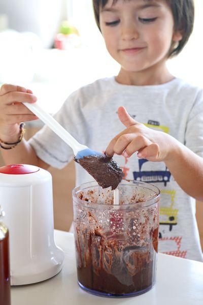 σπιτική μερέντα για παιδάκια (χωρίς συντηρητικά, ζαχαρη, κλπ)