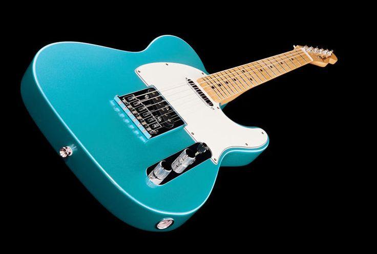 Fender Standard Telecaster MN LPB Electric Guitar, Colour: Lake Placid Blue #fender #guitar #thomann #telecaster