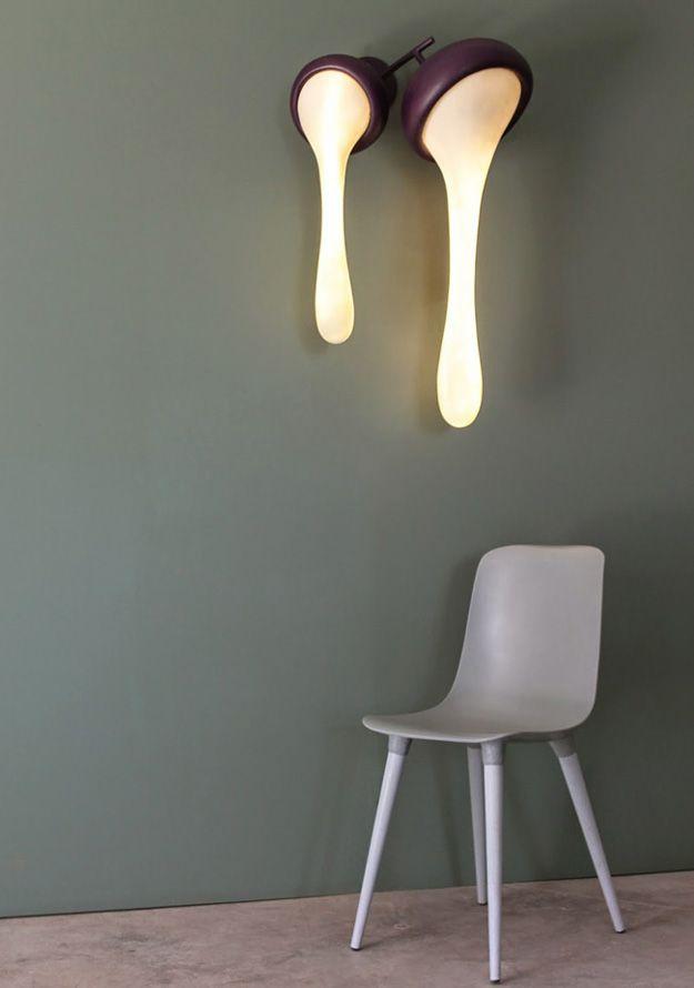 Fluide - unusual lamp by Binome