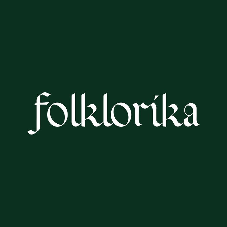 Free Shipping on Etsy! Folktale inspired jewelry by Folklorika. #jewellery  #jewelry #jewelryinspiration #forest #folklore #typography #logo #font #emeraldgreen #green