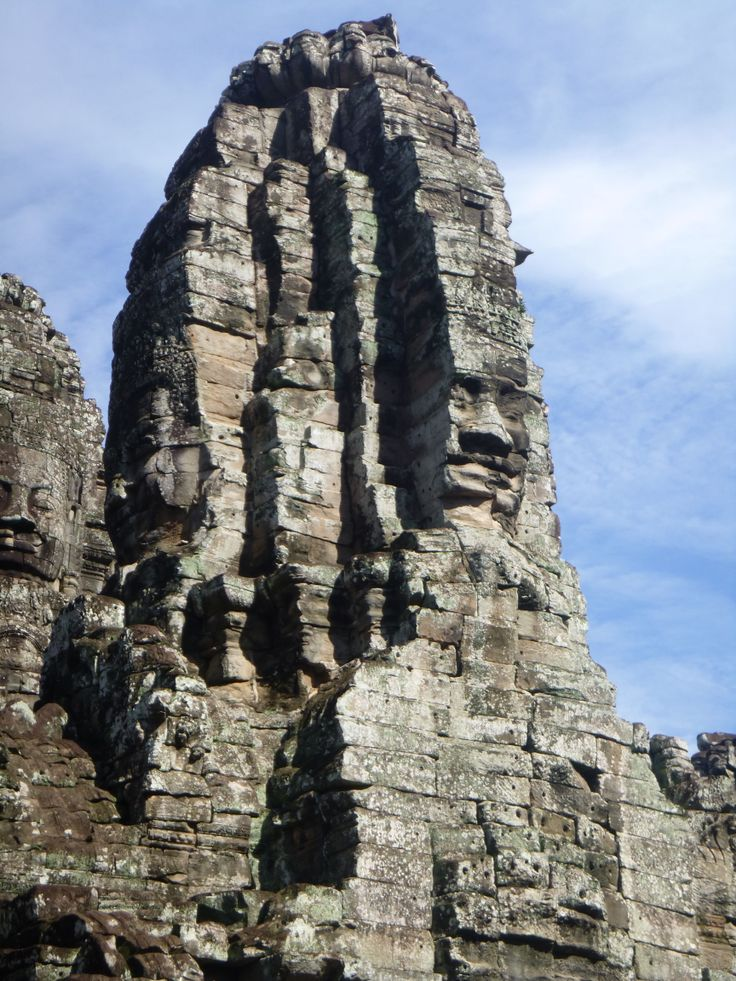 Bayon Temple in Angkor, Siem Reap