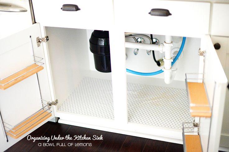 L'organizzazione sotto il lavello della cucina tramite ABFOL