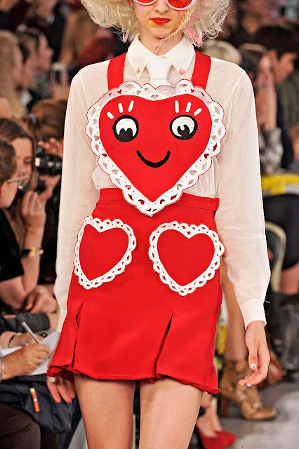 Meadham Kirchhoff (Melody or Ivy, they both seem to like girly, risky fashions.)