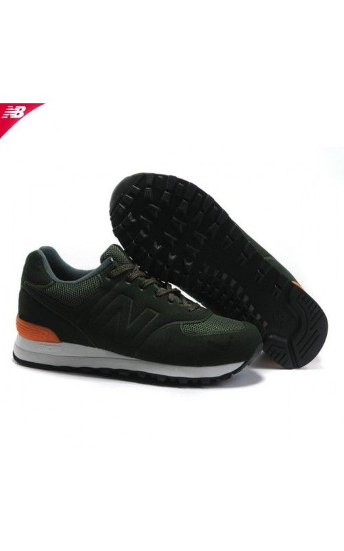 new balance 574 men orange
