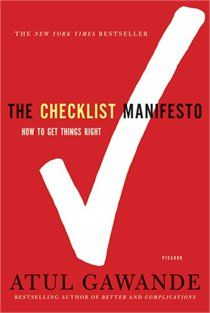 The Checklist Manifesto: How to Get Things Right  We have a membership card or ask mom i think she has one as well.   Where to buy it: chapters  I REALLY WOULD LIKE TO READ THIS BOOK!