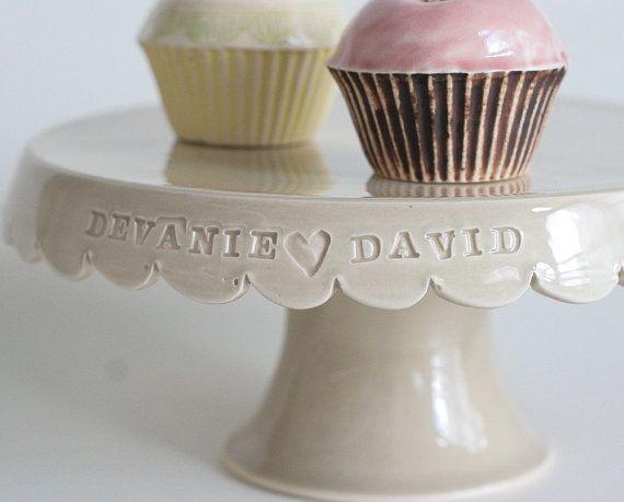 handmade cupcake stand