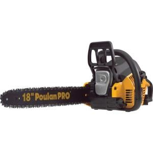 Poulan PRO 18 in. 42cc Gas Chainsaw 967185105 at The Home Depot - Mobile