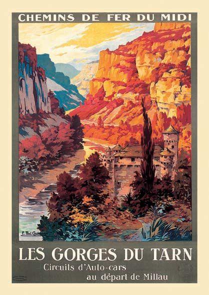 Les Gorges du Tarn     vers 1920