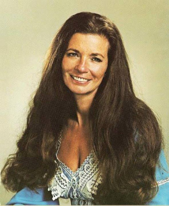 1970's promo photo of June Carter Cash