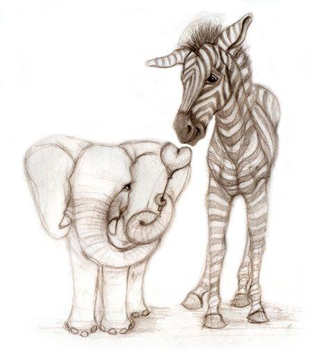 The 25 Best Elephant Drawings Ideas On Pinterest Easy
