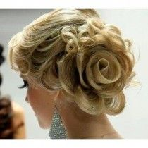 Rose Side Chignons Coiffure ♥