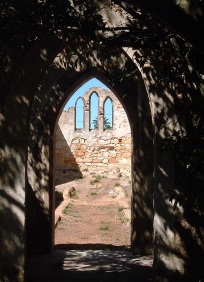 Ruins of old Church in Port Elizabeth, Eastern Cape. South Africa ~ by Suzi-k http://www.belvederecottages.co.za