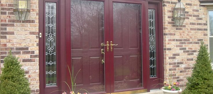 Storm doors for double entry door denver windows pinterest for Double entry storm doors