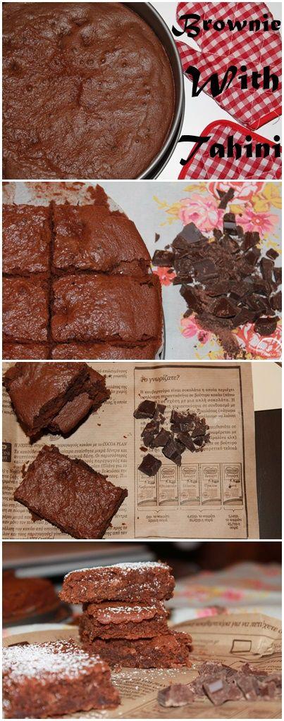 Tahini Brownie |  Μπράουνι με ταχίνι