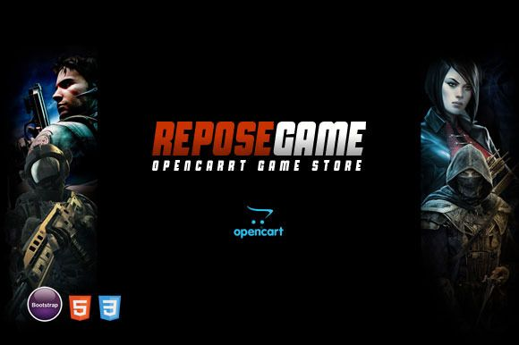 Repose - Game OpenCart Theme by giao.trinh on Creative Market