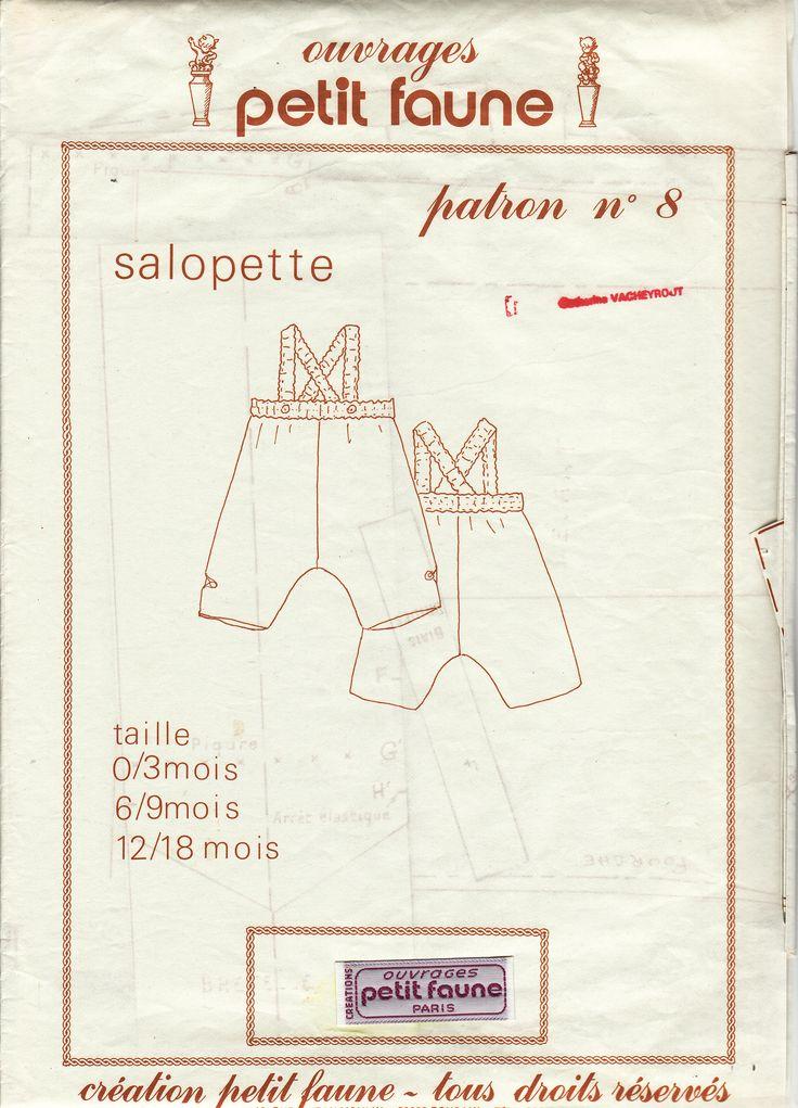 8- salopette (0à18mois)