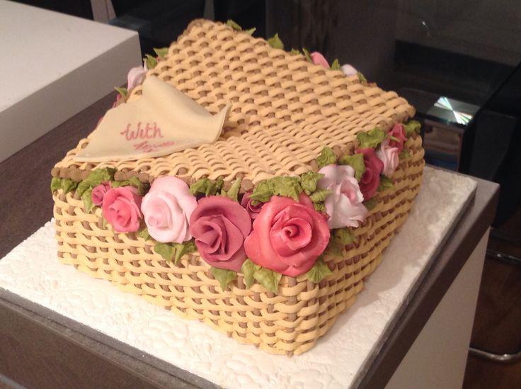 Basket cake .... My first cake