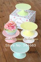 Индивидуальный шик фарфор керамическая кекс стенд десерт кастрюля украшения свадьба ну вечеринку во второй половине дня чай бесплатная доставка(China (Mainland))