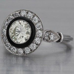 Vintage Style Engagement Rings also known as 'Victorian Rings' or 'Antique Rings'.