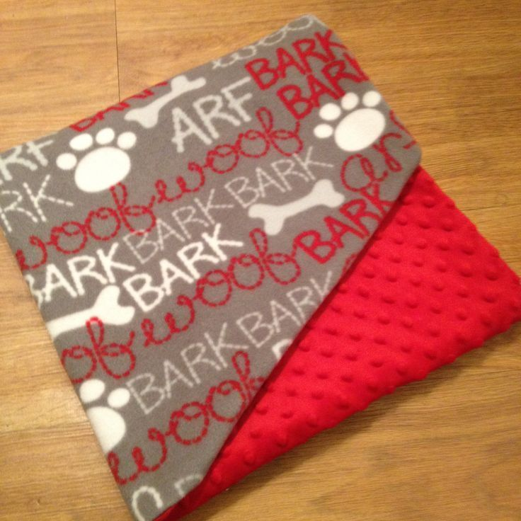 Dog Blankets, Personalized Dog Blankets, Custom Made Dog Blankets by Southern Sewn Designs