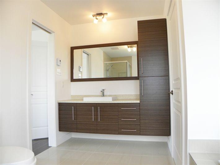 Armoires salle de bain + miroir                                                                                                                                                                                 Plus
