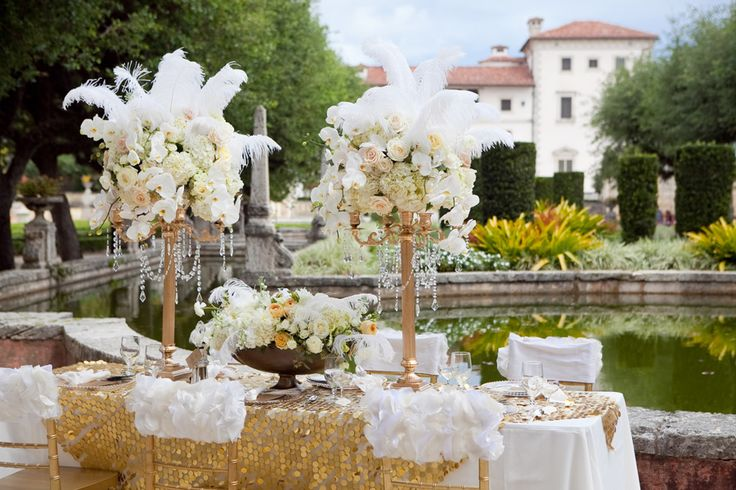 Opulence, grandeur and sophistication are just a couple words to describe the 1920s or, thanks to a recent movie release, the Gatsby era.  A wedding is just the perfect time in your life to celebrate with the extravagance that comes from such a time period.  And the picture perfect grounds of Miami's beautiful wedding venue, …