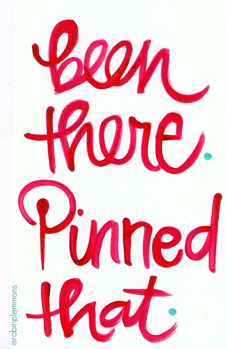 been there. pinned that.  I see so many things that I pinned being assigned to people as originally pinned, there are so so many out there! You go Pinners!