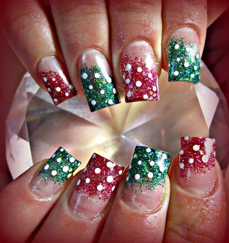 Christmas Nail Art Acrylic The Best Inspiration For Design And