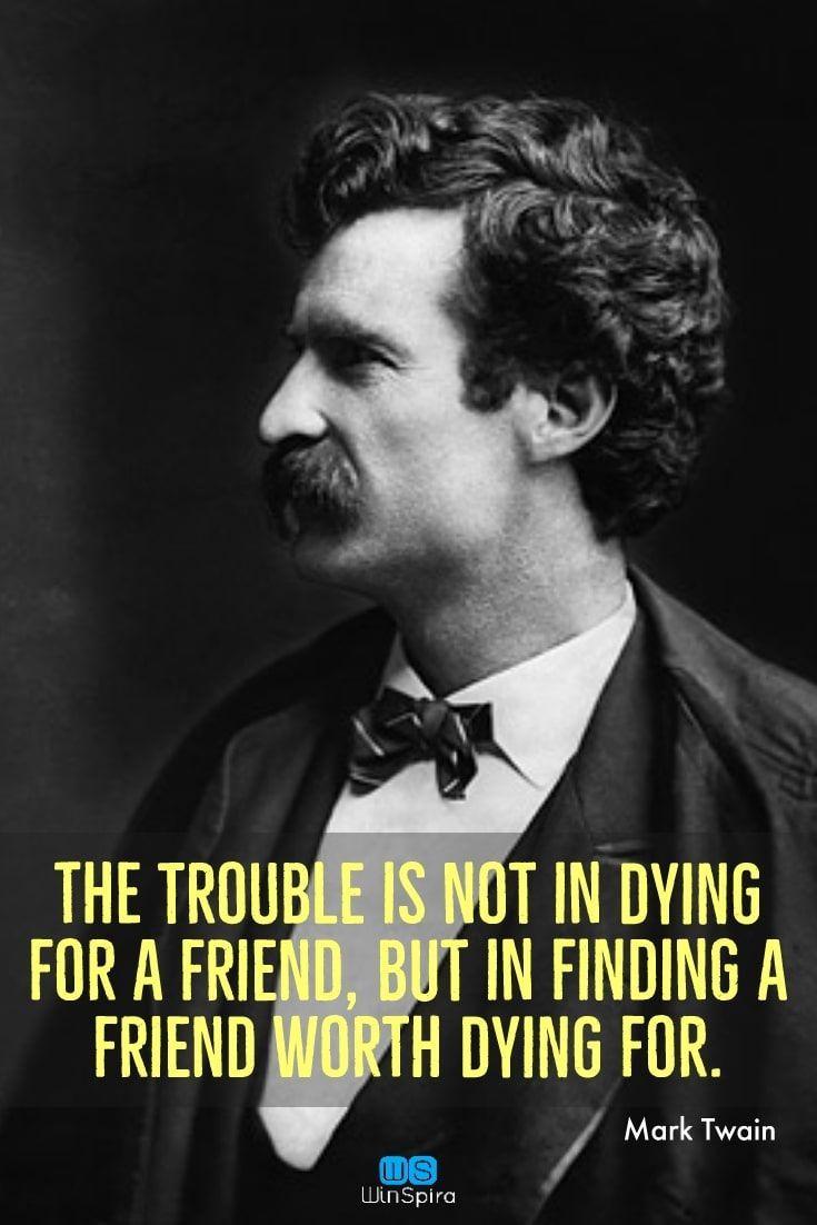 38 Famous Mark Twain Quotes To Read #marktwain Mark Twain