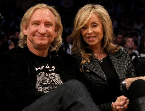 Joe Walsh and Marjorie Bach Photos - Cleveland Cavaliers v Los ...
